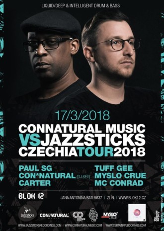 Connatural Music vs Jazzsticks Czechia Tour | 17.3.2018 | Blok 12
