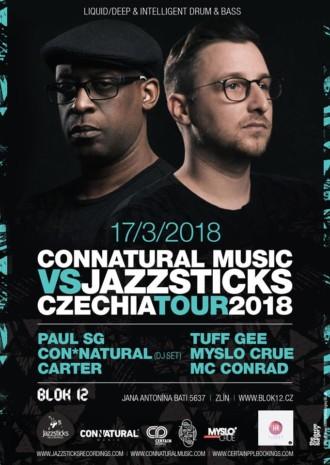 Connatural Music vs Jazzsticks Czechia Tour | 17.3.2018 | Blok 12
