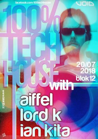 100% Tech House 20.7.2018 | Blok 12