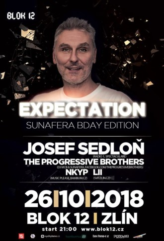 Expectation w/ Josef Sedloň 26.10.2018 | Blok 12