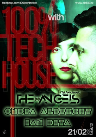 100% Tech House with The Angels | 21.2.2020 | program | Blok 12